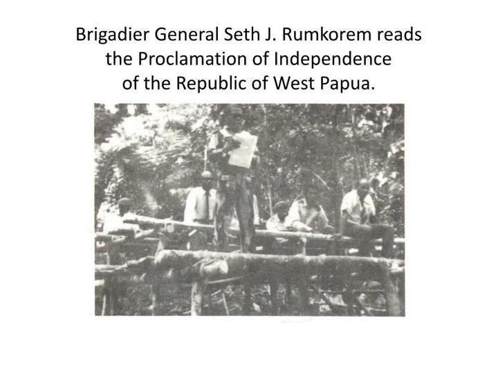 Proklamasi Papua 1 Juli 1971
