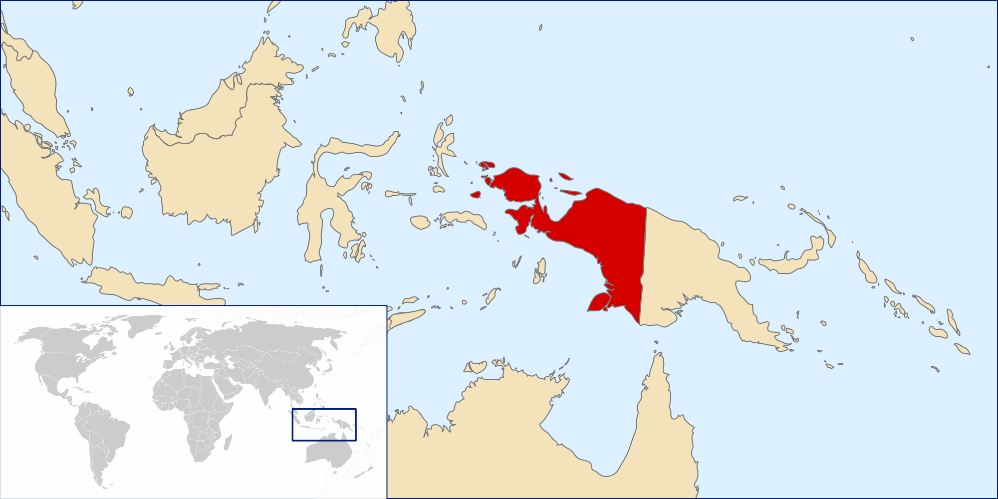 west-papua-map
