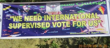 West Papua National Parliament Calling Internationally Supervisor Vote for West Papua
