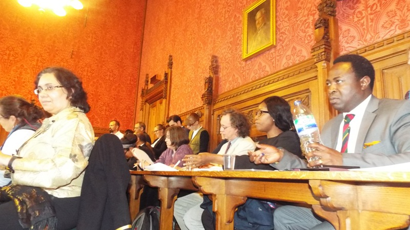 While Meeting in Parliament House of Lord - UK