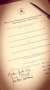 Westminster Declaration